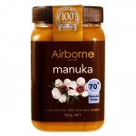 Mật Ong Manuka 70+ New Zealand Airborne Honey Ltd 500g